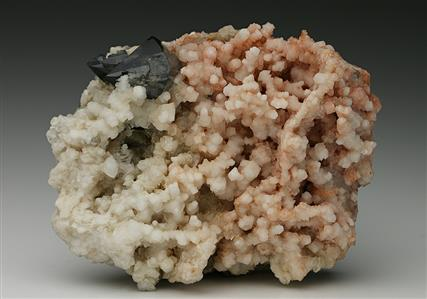 Scheelite with Dolomite and Quartz