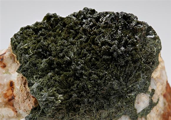 Olivenite with Quartz