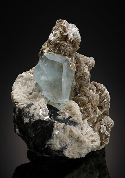 Topaz with Muscovite and Quartz
