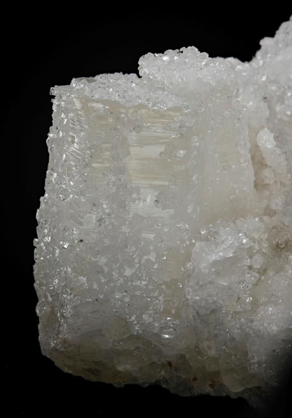 Aragonite with Calcite