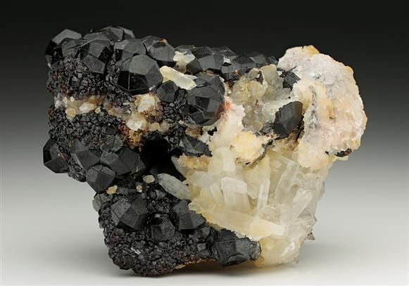 Andradite Garnet with Quartz