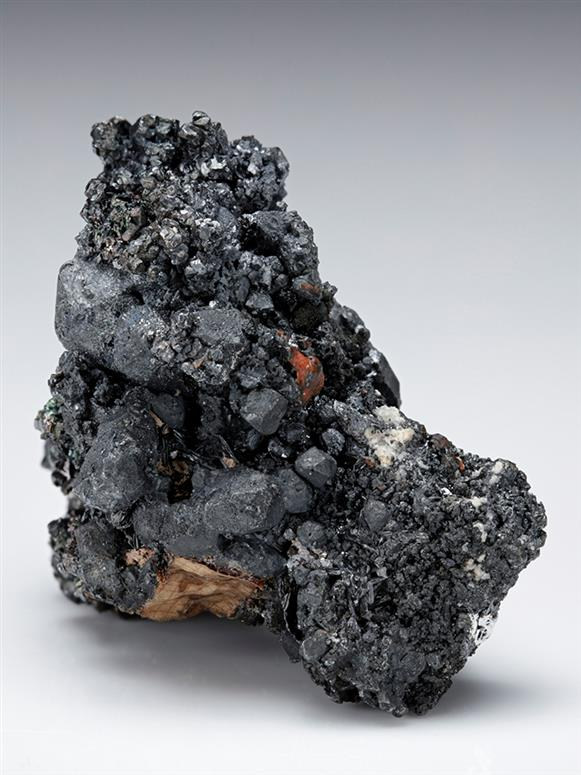 Acanthite with Polybasite