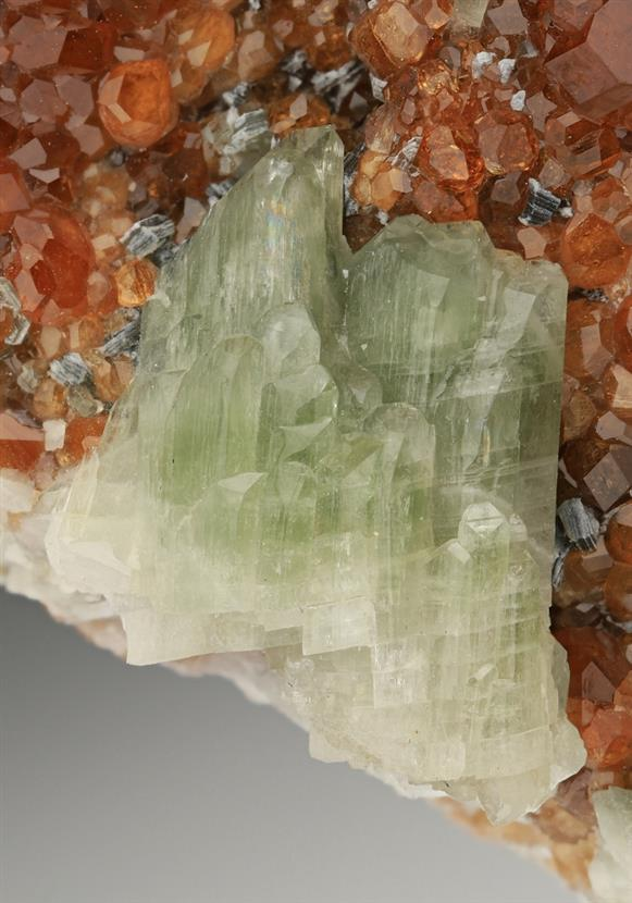 Grossular with Diopside and Clinochlore