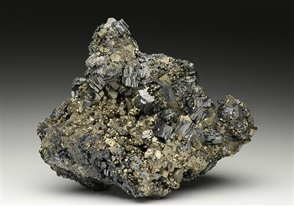 Bournonite with Pyrite
