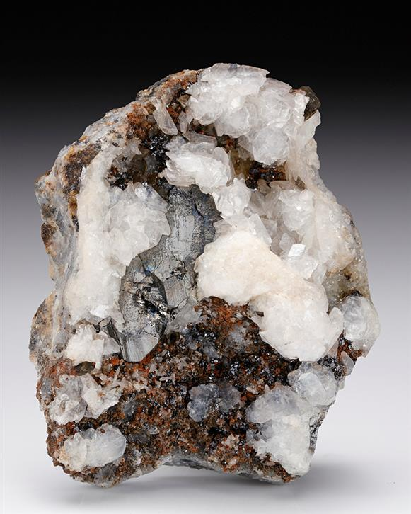 Bournonite with Calcite