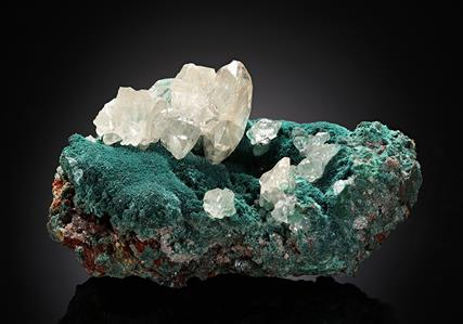 Cerussite with Rosasite