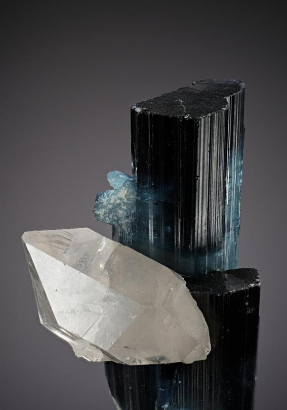 TOURMALINE with QUARTZ