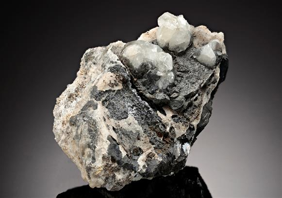 Anglesite with Fluorite and Galena