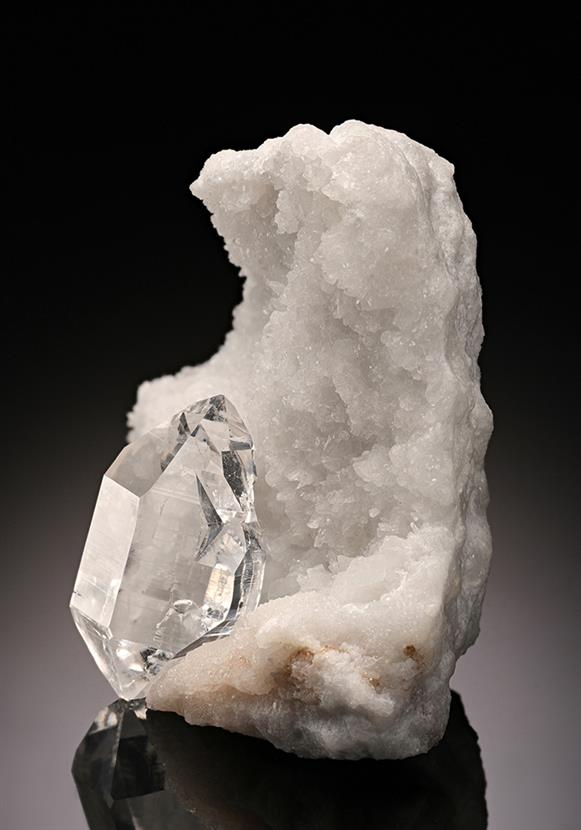 Quartz with Calcite