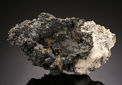 Argentite with Quartz and Pyrite