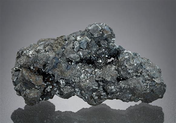Acanthite with Pyrargyrite