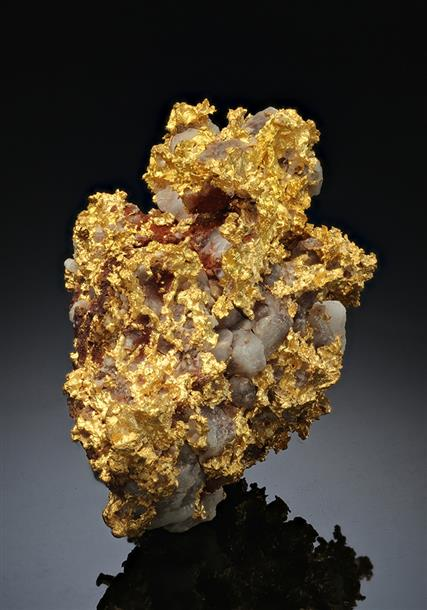 Native Gold with Quartz