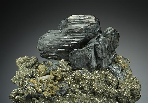 Andorite with Pyrite