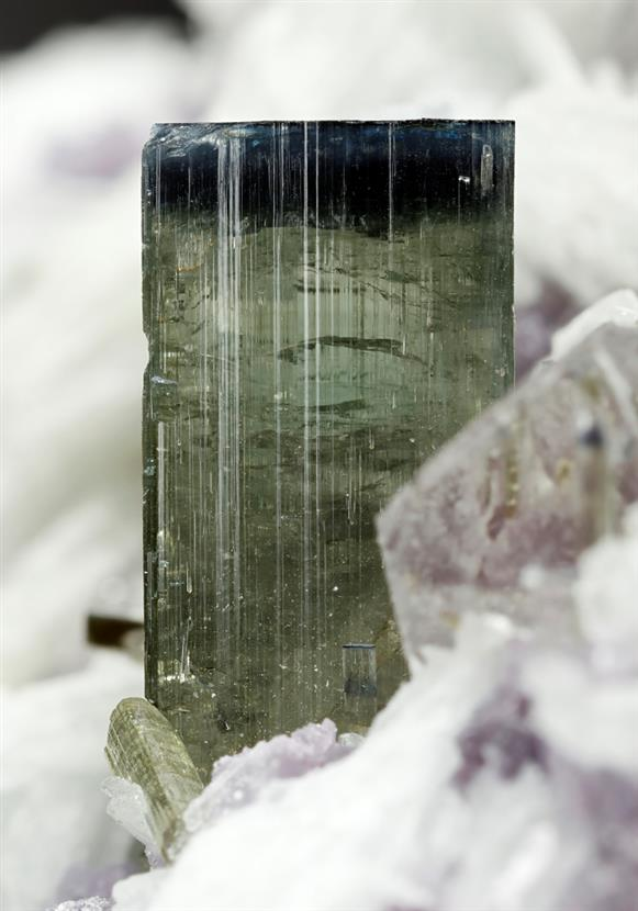 Elbaite Tourmaline with Lepidolite