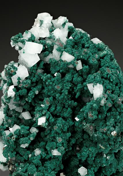 Rosasite with Dolomite