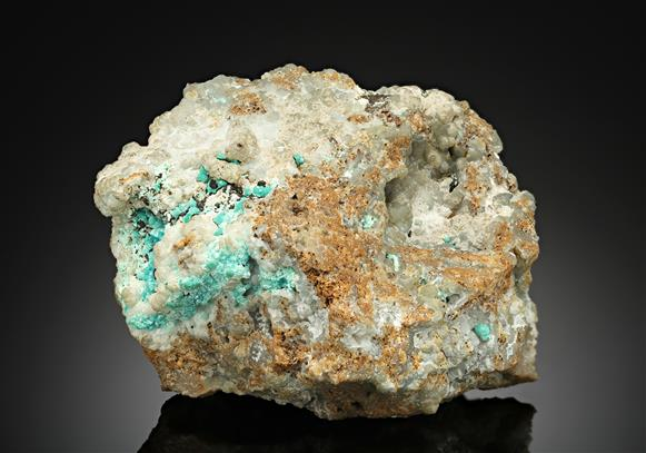 Aurichalcite with Smithsonite