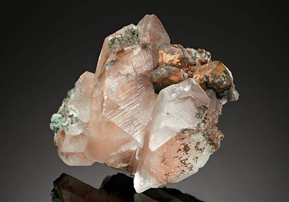 Calcite with Native Copper