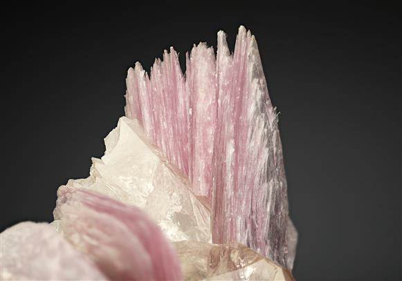Lepidolite with Quartz