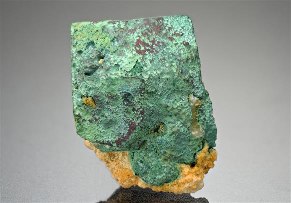 Malachite after Cuprite