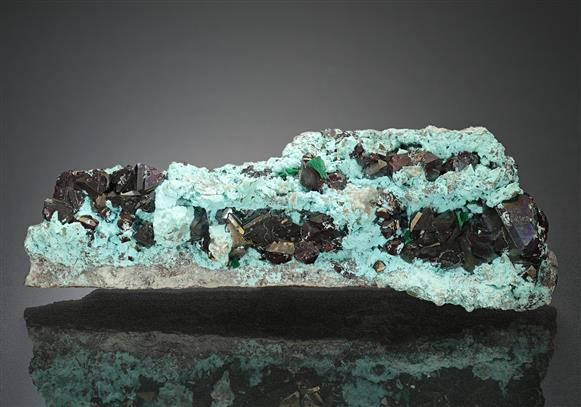 Cuprite with Chrysocolla