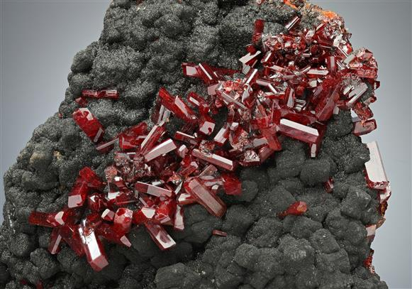 Realgar with Native Arsenic