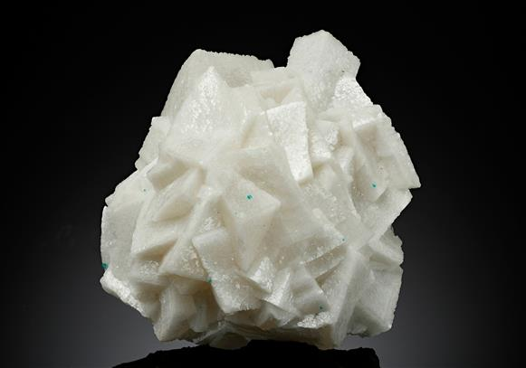 Calcite with Dioptase