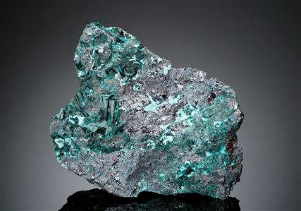 Gerhardtite with Chrysocolla