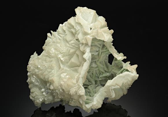 Dolomite Cast with Duftite