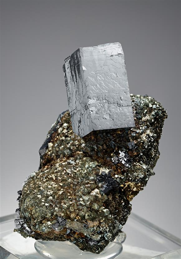Galena with Marcasite