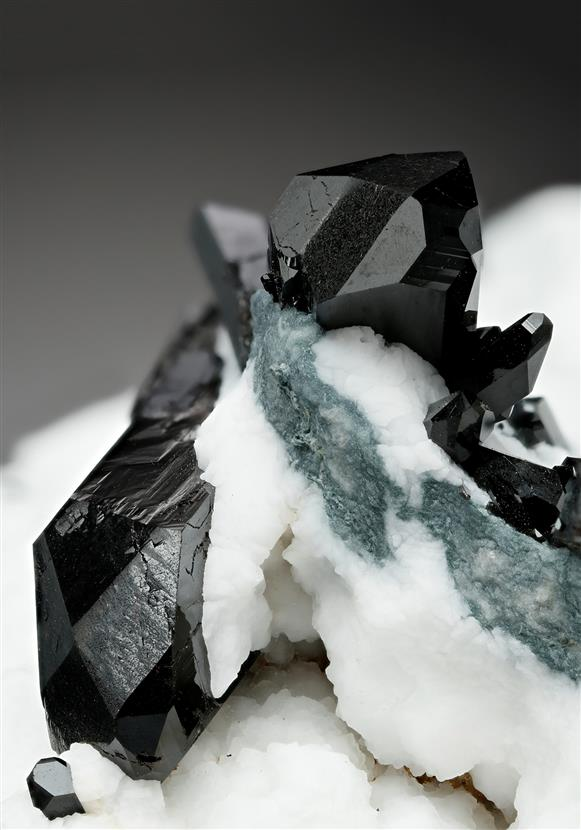 Neptunite with Natrolite