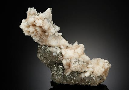Calcite with Pyrite and Quartz