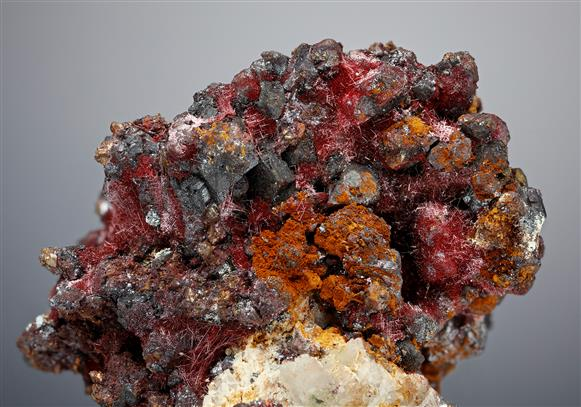 Cuprite with Cuprite var. Chalcotrichite