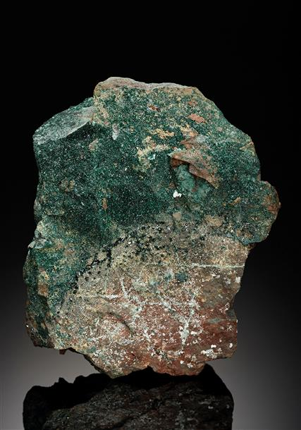 Clinoatacamite with Atacamite