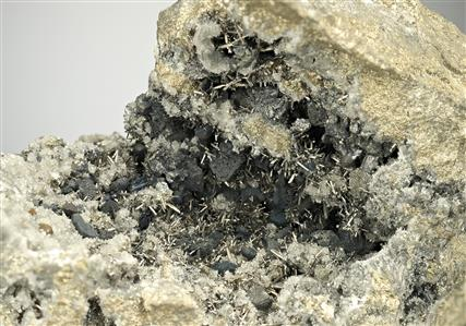 Stannite with Arsenopyrite and Andorite
