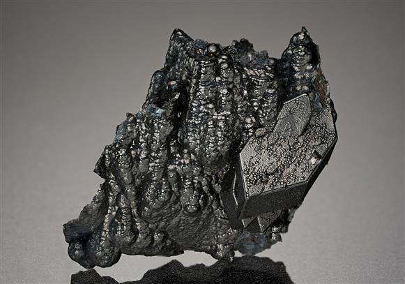 Goethite after Cerussite Pseudomorph Anglesite