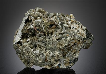 Baryte with Chalcopyrite