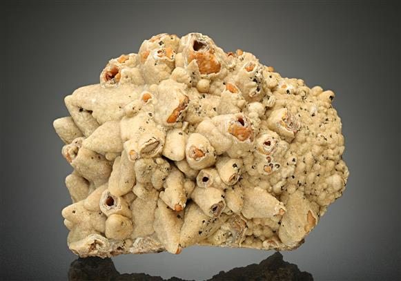 Smithsonite pseudomorph after Calcite