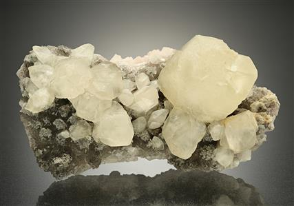 Calcite with Fluorite