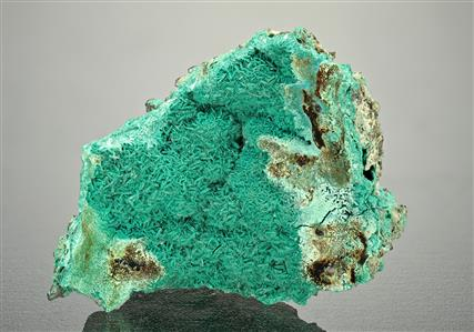 Lanthanite-(Ce) and Malachite