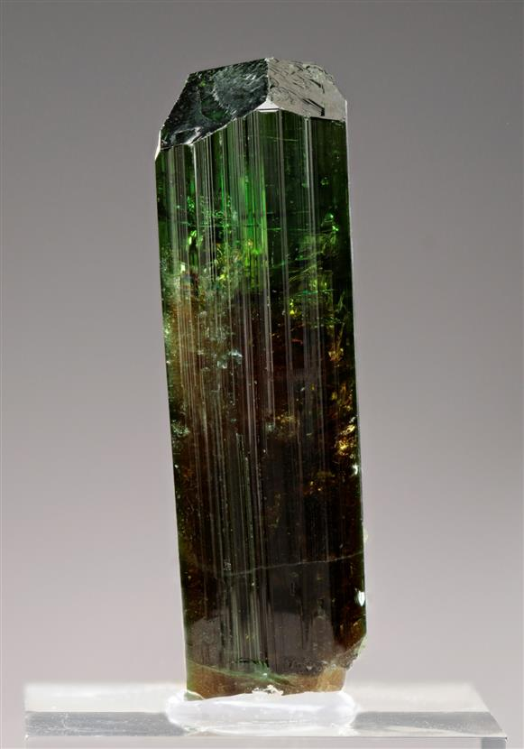 Vanadium enriched Dravite Tourmaline