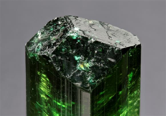 Vanadium enriched Davite Tourmaline