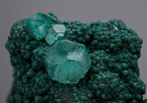 Smithsonite on Rosasite