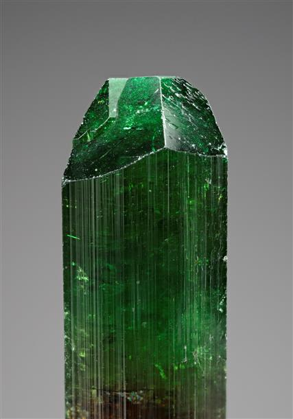 Chrome Dravite (Tourmaline Group)