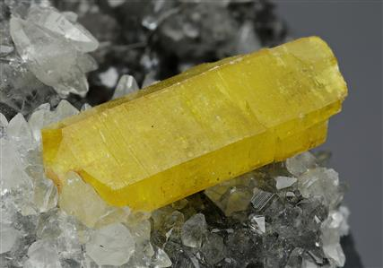 Ettringite with Calcite