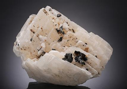 Baryte with Sphalerite