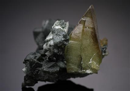 Titanite with Orthoclase variety Adularia