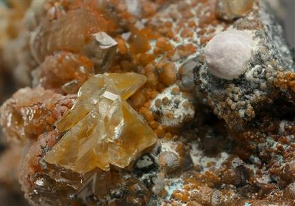 Dundasite with Cerussite