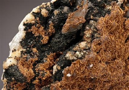 Goethite with Calcite