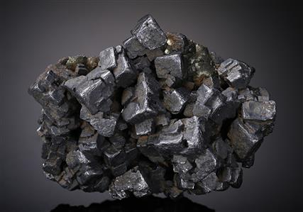 Galena with Marcasite and Sphalerite