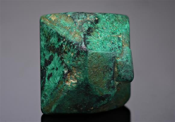 Malachite pseudomorph after Cuprite